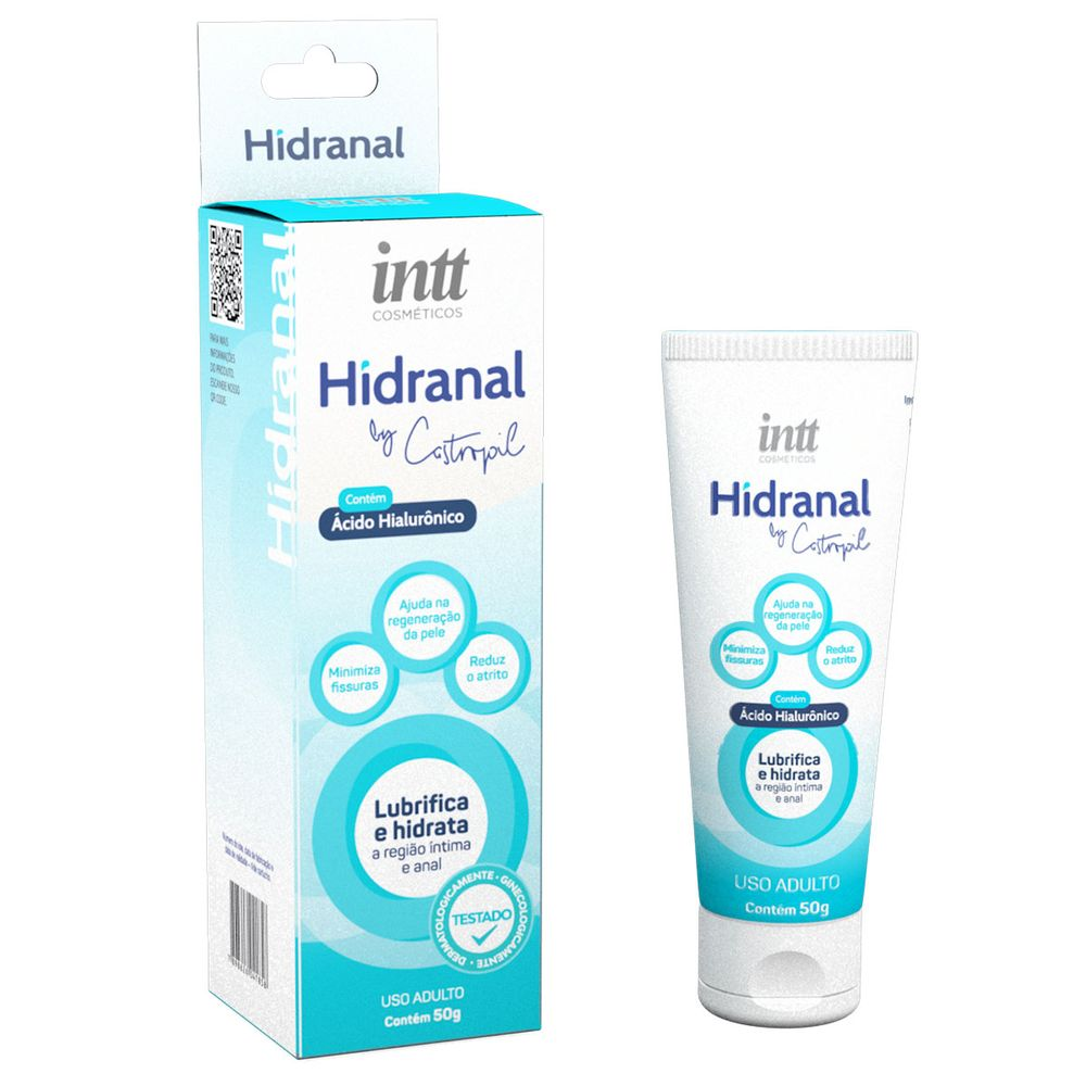 HIDRANAL LUBRIFICANTE HIDRATANTE ANAL COM ÁCIDO HIALURÔNICO 50G BY CASTROPIL
