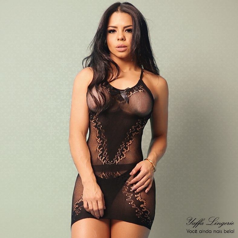 Mini Vestido Sensual Costas Trançada - Yaffa