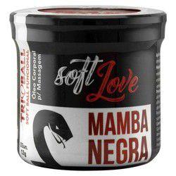 SOFT BALL BOLINHA MAMBA NEGRA - SOFT LOVE