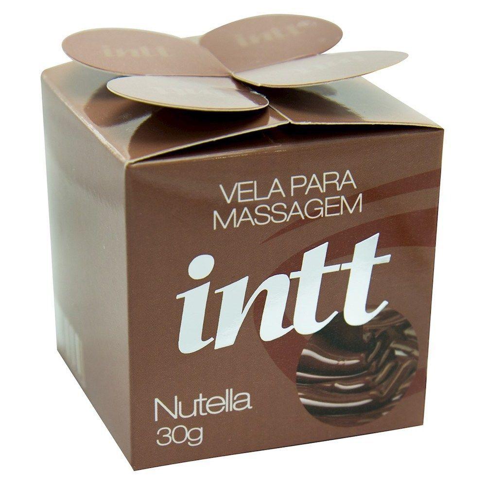 Vela Beijável Nutella - Intt