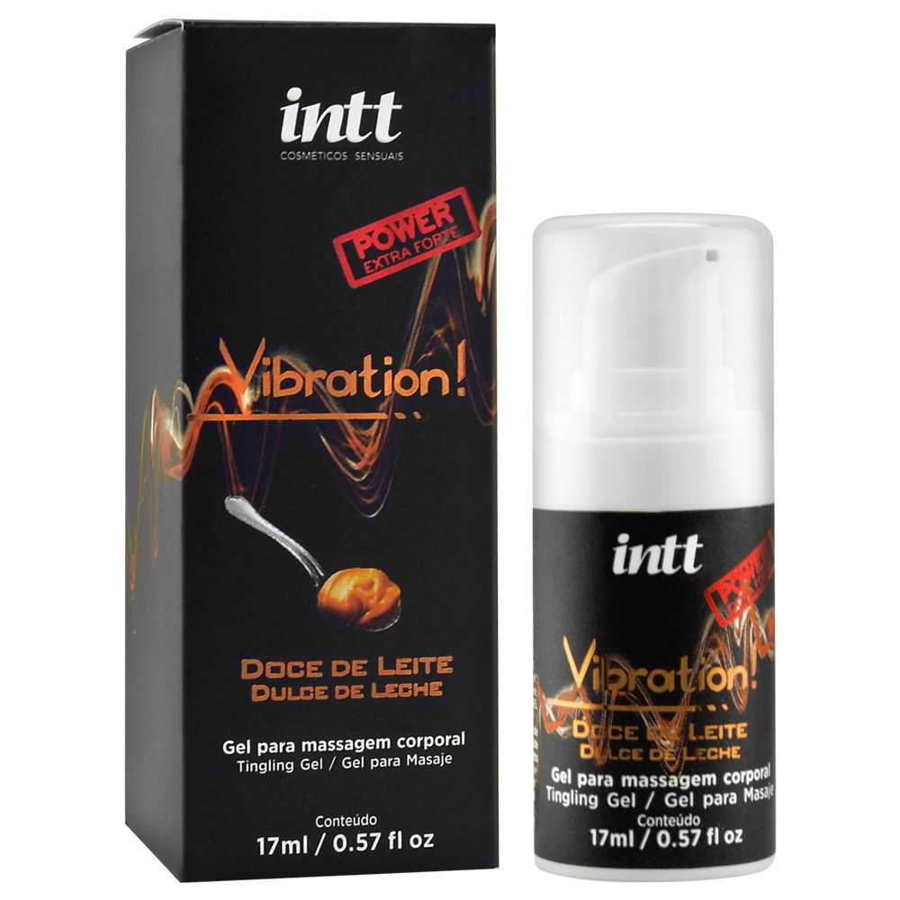 VIBRATION POWER DOCE DE LEITE -17 g  - INTT
