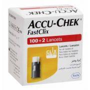 Accu-Chek FastClix com 102 lancetas