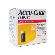 Accu-Chek FastClix com 204 lancetas