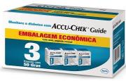 Accu-Chek Guide Embalagem Econômica - 3 caixas com 50 tiras reagentes