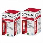 Accu-Chek Performa 75 Tiras  3 Caixas de 25 Tiras (validade 01.2021)
