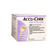 Accu-Chek Safe-T-Pro Uno c/200 Lancetas Esterilizadas
