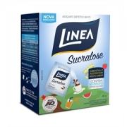 Adoçante dietético em pó Linea Sucralose - Cx. 50 envelope