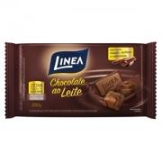 Chocolate Ao Leite Zero Açucar Linea Sucralose 250g