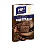 Chocolate ao leite zero açúcar Linea Sucralose - 3 Unid. x 30g