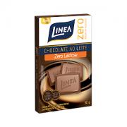 Chocolate ao leite zero açúcar zero lactose Linea Sucralose - 3 Unid. x 30g