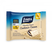 Chocolate Mini Sem Açúcar Cookies'n Cream Linea Sucralose - display 15x13g