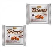 Chocolate Talento Diet avelãs 25g Garoto - 2 Unidades
