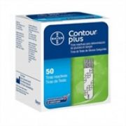 Contour Plus com 50 tiras reagentes