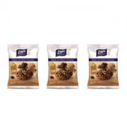 Cookies com nozes e chocolate zero açúcar Linea - 3 pacotes x 40g