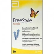 FreeStyle Lancets com 50 lancetas (Freestyle Optium e Freestyle Lite)