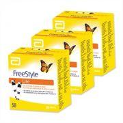 Freestyle Lite 3 caixas com 50 tiras reagentes