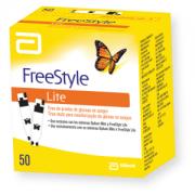 Freestyle Lite com 50 tiras reagentes