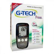 Kit G-Tech Free 1 (kit com 1 monitor, 1 lancetador, 10 lancetas, 10 tiras e estojo)