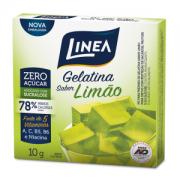 Gelatina de limão zero açúcar Linea Sucralose - Cx. 10g