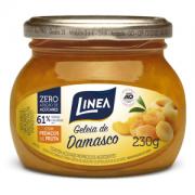 Geléia de damasco zero açúcar Linea - Vd. 230g