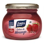 Geléia de morango zero açúcar Linea - 230g