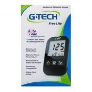 Kit G-Tech Free Lite (kit com 1 monitor, 1 lancetador, 10 lancetas, 10 tiras e estojo)