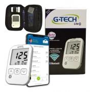 Kit G-Tech Free Lite smart (kit com 1 monitor, 1 lancetador, 10 lancetas, 10 tiras e estojo)