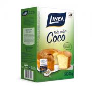 Mistura Para Bolo Linea Sabor Coco Com 300 Gramas