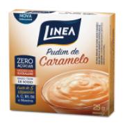 Pudim Zero Açúcar Línea- Caramelo cx 25g