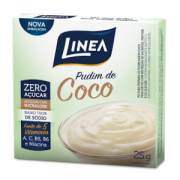 Pudim Zero Açúcar Línea- Coco cx 25g