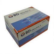 Seringa para Insulina BD Ultrafine 0,5mL (50UI) Agulha 8x0,3mm 30G - Caixa com 100 seringas