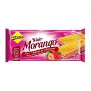 Wafer Lowçucar Zero Açúcares Sabor Morango 115g