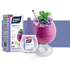 Adoçante Dietético Linea SweetNatural 25ml  - Diabetes On - Vendido e Entregue por Diabetic Center