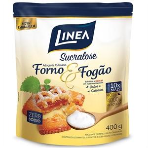 Adoçante em Pó Linea Sucralose Forno e Fogão - 400g  - Diabetes On - Vendido e Entregue por Diabetic Center
