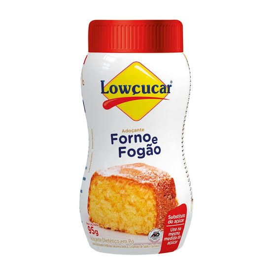 Adoçante Forno e Fogão Lowçucar 95g  - Diabetes On - Vendido e Entregue por Diabetic Center