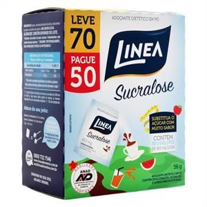 Adoçante Linea Sucralose Leve 70 Pague 50 envelopes  - Diabetes On - Vendido e Entregue por Diabetic Center