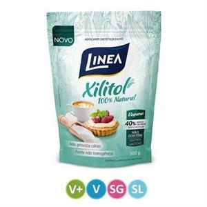 Adoçante Xilitol Natural Linea - 300g  - Diabetes On - Vendido e Entregue por Diabetic Center