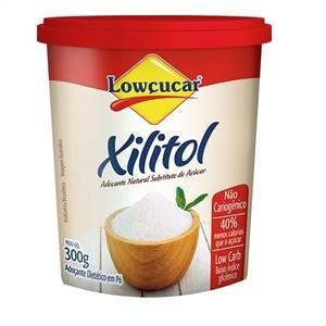 Adoçante Xilitol Natural Lowçucar - 300g  - Diabetes On - Vendido e Entregue por Diabetic Center