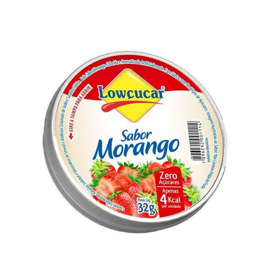 Bala Sabor Morango Zero Açúcares Lowçucar - 32 g  - Diabetes On - Vendido e Entregue por Diabetic Center
