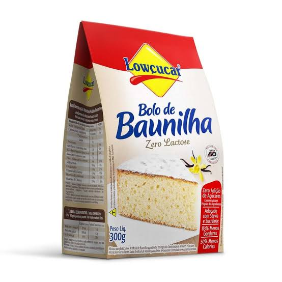 Bolo Lowçucar Sabor Baunilha 300g  - Diabetes On - Vendido e Entregue por Diabetic Center