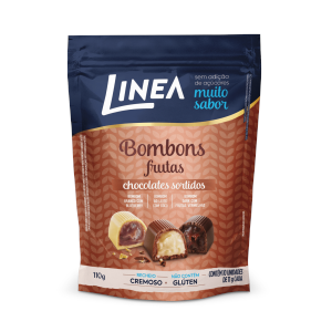 Bombons Sortidos com Frutas Linea 10x11g  - Diabetes On - Vendido e Entregue por Diabetic Center