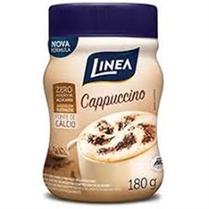 Cappuccino em pó Línea sucralose zero açúcar- 180g  - Diabetes On - Vendido e Entregue por Diabetic Center