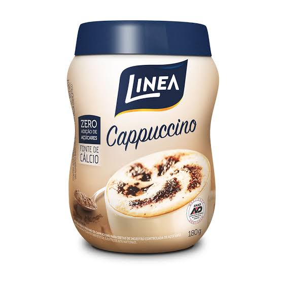 Cappuccino Linea - 180 g  - Diabetes On - Vendido e Entregue por Diabetic Center