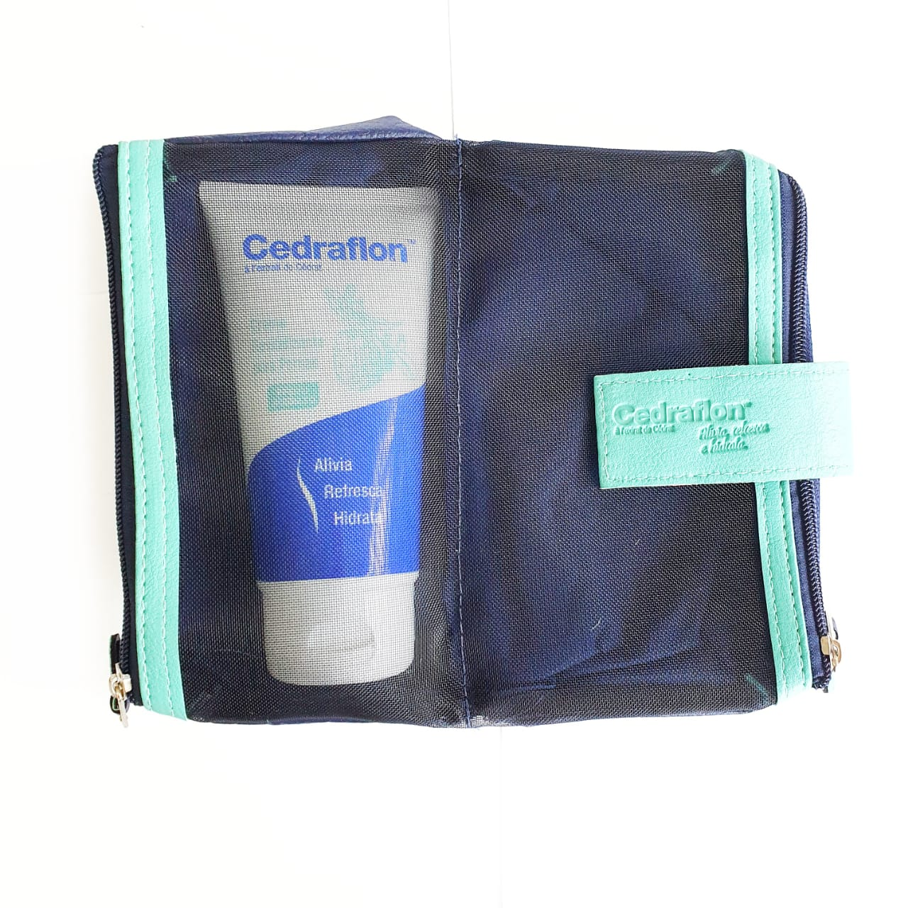 Cedraflon - Creme Para as Pernas - 150 ml + Necessaire de Maquiagem exclusiva  - Diabetes On - Vendido e Entregue por Diabetic Center