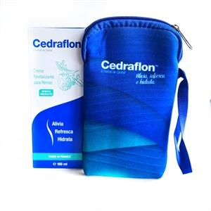 Cedraflon - Creme Para as Pernas - 150 ml + Porta celular  - Diabetes On - Vendido e Entregue por Diabetic Center