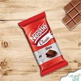 Chocolate ao Leite Diet Classic Nestle 25G - 2 Unidades  - Diabetes On - Vendido e Entregue por Diabetic Center