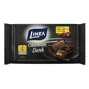 Chocolate Dark Zero Açucar Linea Sucralose 250g  - Diabetes On - Vendido e Entregue por Diabetic Center
