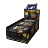 Chocolate Mini Dark zero açúcar Linea Sucralose - display 15x13g  - Diabetes On - Vendido e Entregue por Diabetic Center