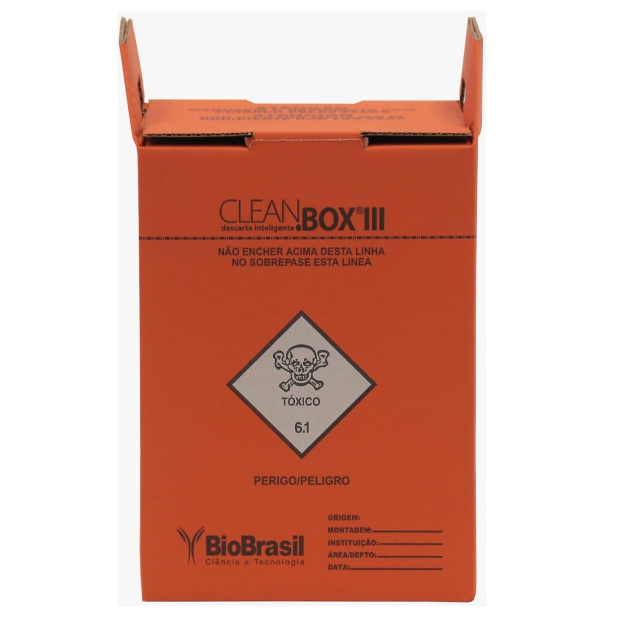 Clean Box III ( 3 Litros )   - Diabetes On - Vendido e Entregue por Diabetic Center