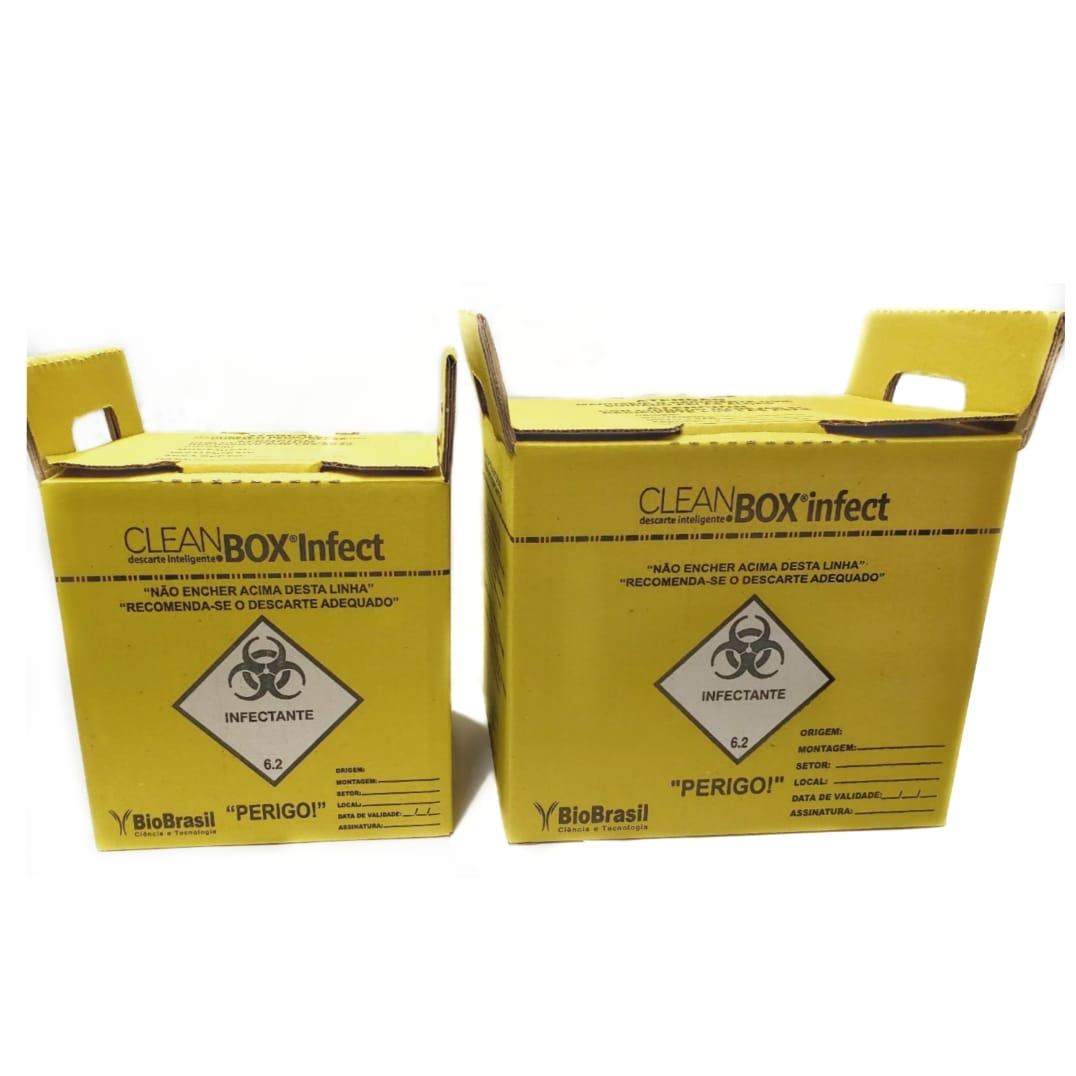 CLEAN BOX INFECT  ( 7 Litros )   - Diabetes On - Vendido e Entregue por Diabetic Center